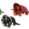Jumbo Plush Dinosaur Dog Toys