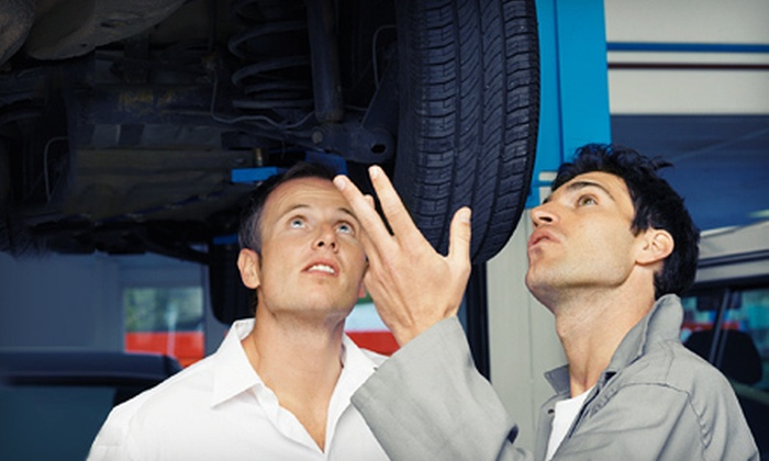 The Auto & Tire Doctor - Truckee: Standard or Synthetic Oil Change with Tire Rotation and Inspection at The Auto & Tire Doctor in Truckee (Up to 62% Off)
