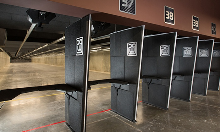 Poway Weapons & Gear Range - Poway Weapons & Gear Range: $64 for an All-Day Range Package with Equipment Rental for Two at Poway Weapons & Gear Range ($94 Value)
