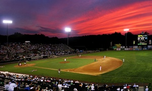 New Britain Rock Cats: New Britain Rock Cats Baseball Game for Two at New Britain Stadium on August 5 (45% Off)