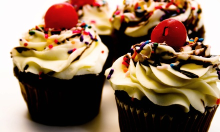 Cupcakes, Beverages, or a Children's Birthday Party for Up to 10 at Mr. Cupcakes (Up to 42% Off)