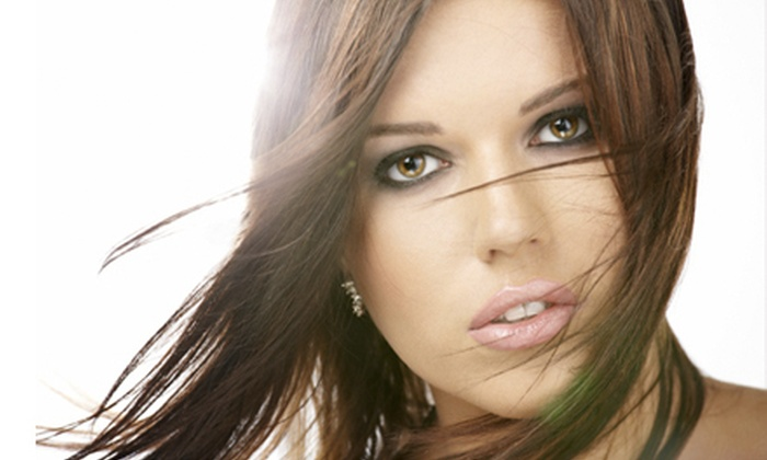 House of Style - Jensen Tract: Haircut with Option for Partial or Full Highlights at House of Style (Up to 62% Off)
