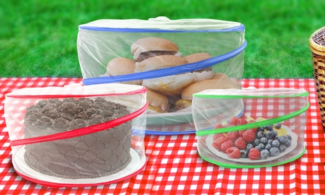 Pop-Up Food-Cover Set (3-Piece)