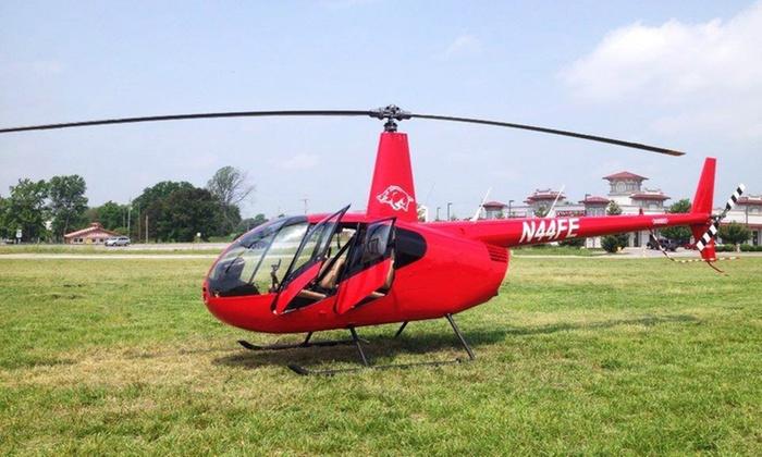 Arkansas Helicopters - Springdale: 10- or 18-Mile Helicopter Tours from Arkansas Helicopters (Up to 41% Off)