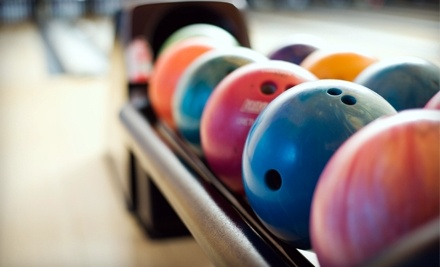 One Hour of Bowling for Four or Eight with Shoe Rental and Soda or Beer Pitchers at Pinsetter Bar & Bowl (Up to 58% Off)