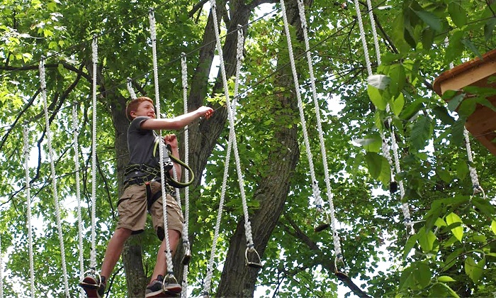 Nomads Outdoor Adventure - Nomads Outdoor Adventure: $44 for Up to Three Hours of Climbing & ZipLining for Two at Nomads Outdoor Adventure ($76 Value)