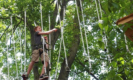 $44 for Up to Three Hours of Climbing & ZipLining for Two at Nomads Outdoor Adventure ($76 Value)