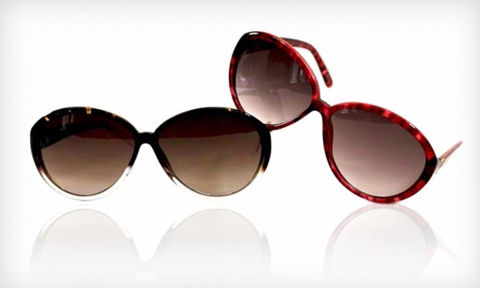 Adrienne Vittadini Sunglasses: Adrienne Vittadini Sunglasses (Up to 69% Off). 24 Styles Available.