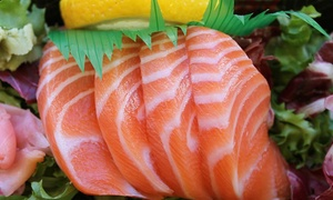 Shogun Japanese Steakhouse: $17 for $30 Worth Sushi and Hibachi at Shogun Japanese Steakhouse