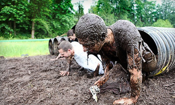 Survivor Mud Run - Van Vleck Ranch: Survivor Mud Run for One or Two on April 28 (51% Off)