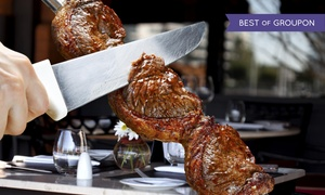 Brasas Grill: Up to 37% Off All-You-Can-Eat Steakhouse at Brasas Grill