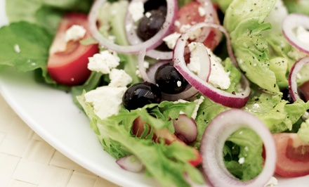 Salads, Beer, Wine, and Sides at Bay Leaf Cafe and Catering (Up to 45% Off). Three Options Available.