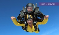 Tandem Skydive From 10,000 Feet for One at Skydive Buzz (39% Off)