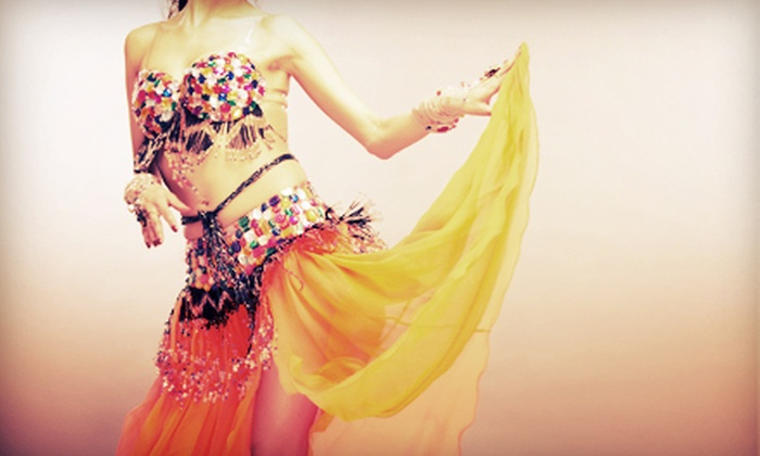 Belly Dancing Show - Garment District: $10 to See a Belly Dancing Show at Tagine Dining (Up to $20 Value). Four Dates Available.