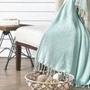 Cotton Diamond-Weave Throws (2-Pack)