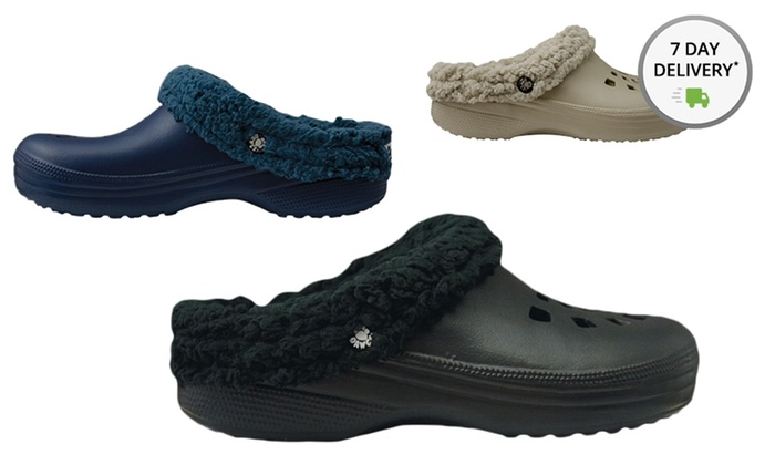 Dawgs Men's Fleece-Lined Clogs and Scuffs: Dawgs Men's Fleece-Lined Clogs and Scuffs. Multiple Options Available. Free Returns.