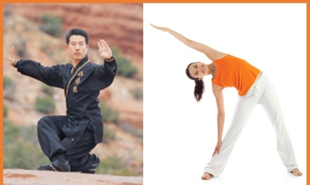 C$40 for a OneMonth Yoga, Tai Chi, and Qi Gong Package at The ChunHwa Training Centre (85% Off)
