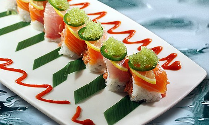Naan Sushi Japanese Restaurant - Plano: $25 for $50 Worth of Upscale Japanese Cuisine at Naan Sushi Japanese Restaurant