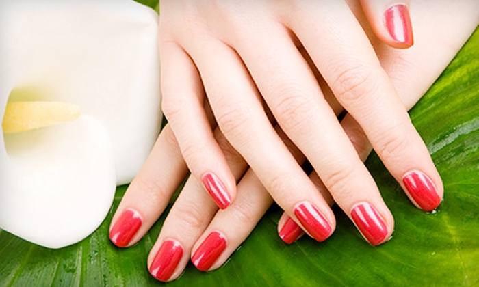 23 for Gel Manicure with Paraffin Hand Treatment and Nail Art from