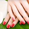 59% Off Gel Manicure with Paraffin and Nail Art