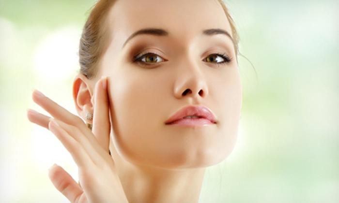 Lorrie Emory Skin Care - Cornelius: European Facial or Bio-Therapeutic Microcurrent Face-Lift at Lorrie Emory Skin Care (Up to 75% Off)