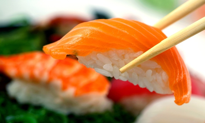 Wasabi Sushi - Llanfair: $11 for $20 Worth of Japanese Food for Two at Wasabi Sushi