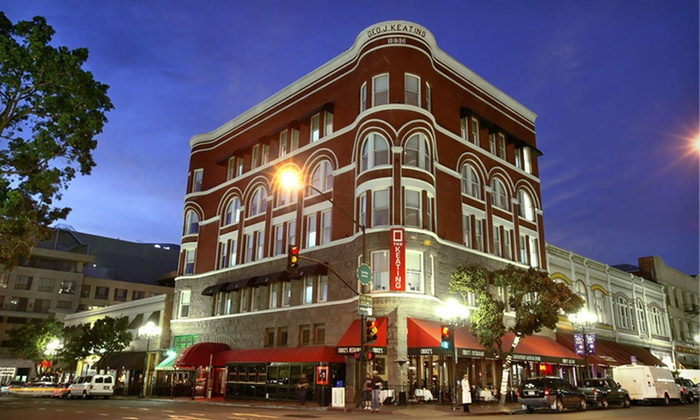 The Keating Hotel - San Diego: Two-Night Stay with Bottle of Wine at The Keating Hotel in San Diego, CA