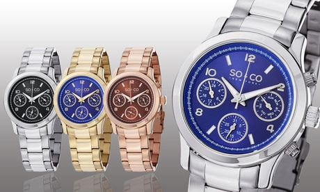 Clearance: SO & CO New York Women's Multifunction Watch