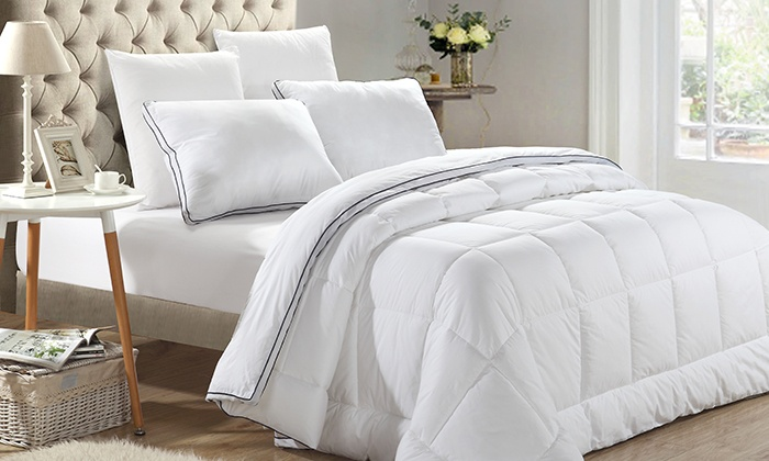 Groupon Goods: Microgel and Egyptian Cotton Duvet from $49.99–$69.99 (Delivery Included)