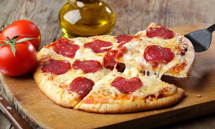 Pizza Meals at South Coast Pizza Parlors (Up to 52% Off). Three Options Available.