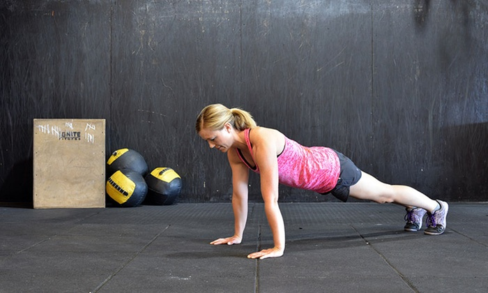 Ignite Fitness - Hoover: Unlimited CrossFit or CrossFit 101 Classes at Ignite Fitness (Up to 85% Off). Two Options Available.