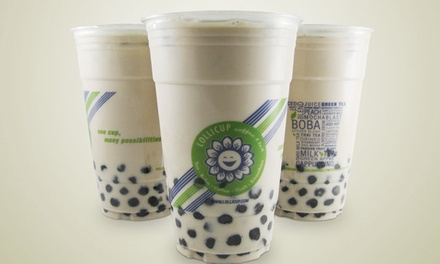 $12 for Four Groupons, Each Good for $5 Worth of Tea and Juice at Lollicup - Diamond Bar ($20 Value)