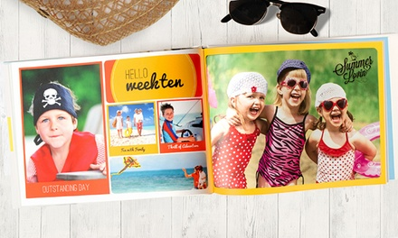$29 for $100 Worth of 40 Pages of Custom Photo Books from Photobook America