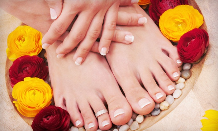Paradiso Salon - Verona: Shellac Manicure with Optional Basic Pedicure at Paradiso Salon (Up to 59% Off). Four Options Available.