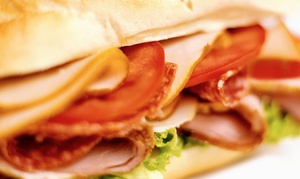 The Sub Station: $12 for Three Groupons, Each Good for $8 Worth of Sub Sandwiches and Soups at The Sub Station ($24 Value)