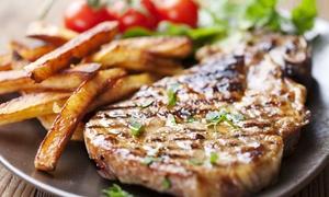 Le Cap Vers: Entrecôte, frites maison, salade et dessert au choix pour 2 ou 4 personnes dès 29 € au restaurant Le Cap Vers