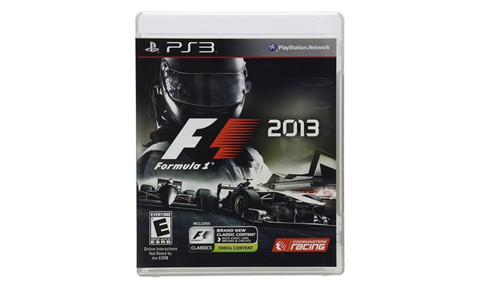 F1 2013 for Playstation 3