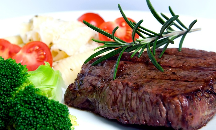 Steak House The - Rockmart: 10% Off The Total Bill with Purchase of Two Entrees at Steak House The