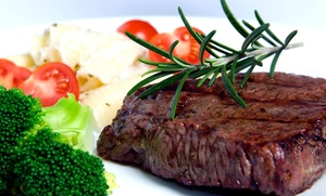 Steak House The: 10% Off The Total Bill with Purchase of Two Entrees at Steak House The