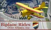 Biplane Atlanta - Chamblee: $85 for a Biplane Flight Over Downtown Atlanta or Stone Mountain Park Plus Free Appetizer or Dessert at the 57th Fighter Group Restaurant