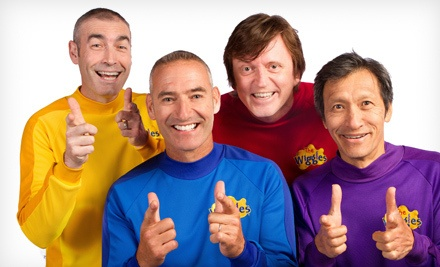 The Wiggles Getting Strong! Live in Concert on Thurs., July 12 at 6:30PM: Loge Level 16, Rows 1-9 - The Wiggles Getting Strong! Live in Concert in San Diego