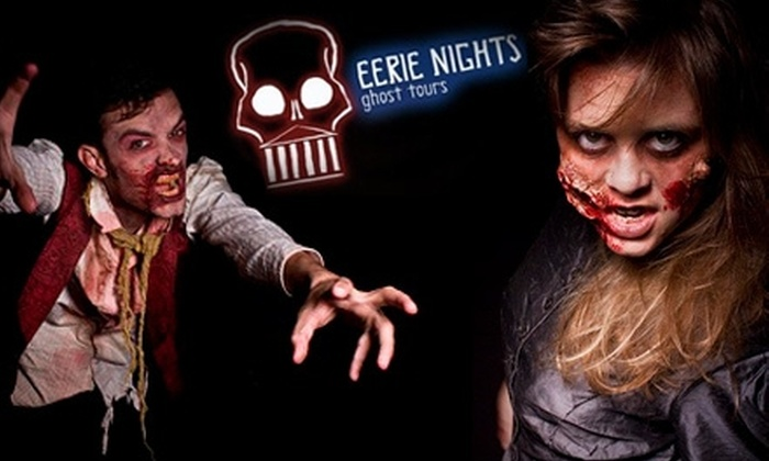 Eerie Nights Ghost Tours - Shockoe Bottom: $7 for a General Tour with Eerie Nights Ghost Tours ($13 Value)