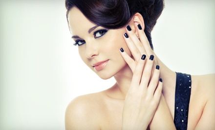 1 Spa Manicure and Pedicure (a $60 value) - Ego Styles Hair Salon & Spa in Schererville