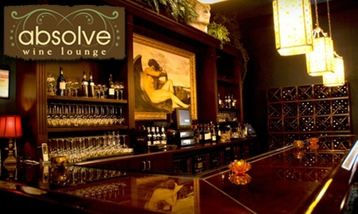 Absolve Wine Lounge - Washington Ave./ Memorial Park: $15 for $30 Worth of Dinner Fare & Drinks at Absolve Wine Lounge
