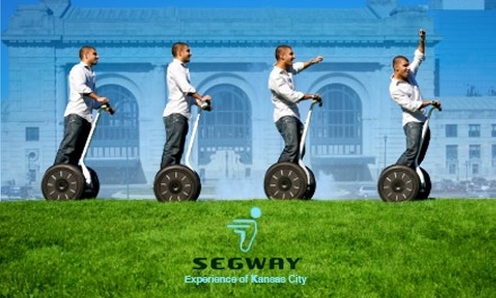 Segway Experience of Kansas City - Crown Center: $50 for a 60-Minute Tour with Segway Experience of Kansas City