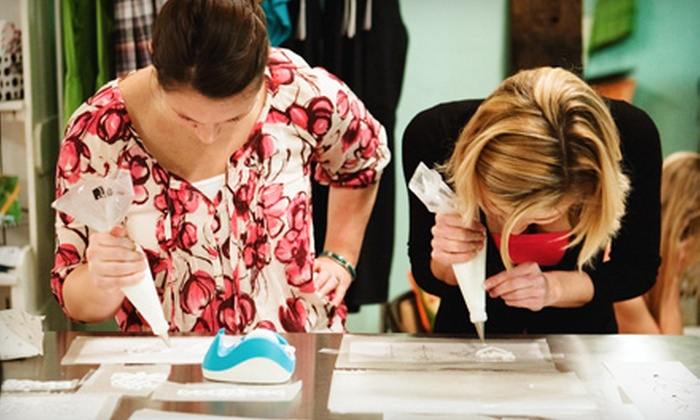 Paige's Pantry - Murfreesboro: $32 for a Two-Hour Cake-Decorating Class for Two at Paige's Pantry in Murfreesboro ($64 Value)