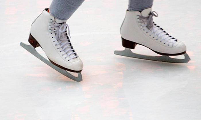 Alpine Ice Arena - Gardiner Lane: Ice Skating with Skate Rental and Soda or Hot Chocolate for Two, Four, or Six at Alpine Ice Arena (Up to 55% Off)