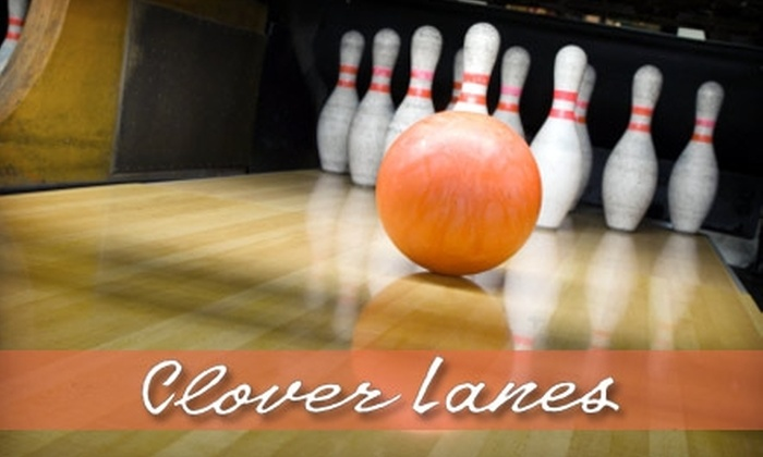 Clover Lanes - Brighton: $9 for Three Games of Bowling, Shoe Rental, and a 20-Ounce Soda at Clover Lanes (Up to $20 Value)