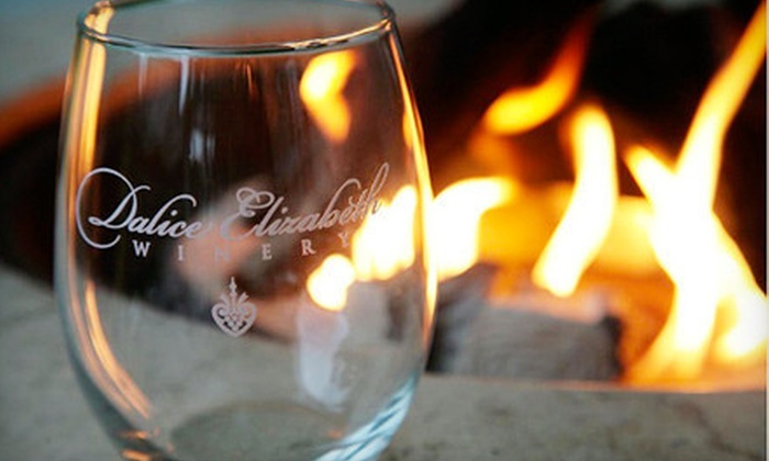 Dalice Elizabeth Winery - Preston: Friday Night Fusion Outdoor Concert with Wine for 2, 4, or 10 at Dalice Elizabeth Winery in Preston (Up to 60% Off)
