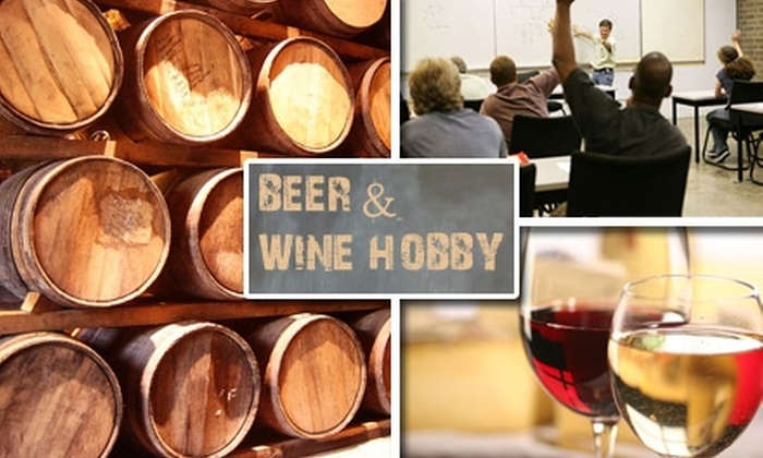 Beer and Wine Hobby  - Woburn: $18 for a 60-Minute Introductory Home-Winemaking Class at Beer and Wine Hobby ($35 Value)
